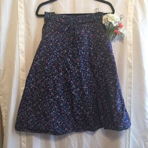 Dresses & Skirts - Vintage Wrap Floral Print Skirt with Pockets